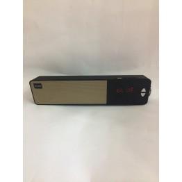 колонка с часами подставкой для телефона, дисплеем, USB, SD, FM, Bluetooth и 2-динамиками 31см*7.5см*5.5см 5ватт AT-7900BT