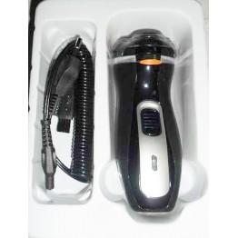 электробритва от сети, с аккум., тремя бритв.головками и насадкой для подравнивания весков AT-882