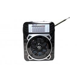 радиоприемник от сети с USB, SD, аккумулятором и со светодиодным фонариком 16см*12.5см*8.5см GOLON RX-9133