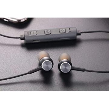 беспроводные спорт-наушники с MP3, FM-приемником, Bluetooth и аккумулятором AZ-32B
