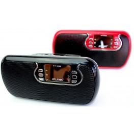 колонка с USB+SD+FM-приемник+сабвувер+дисплей, 2-динамика AT-6526