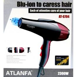 фен для укладки волос c насадкой, 2300w AT-6704