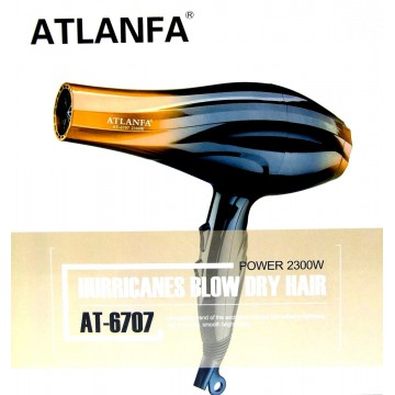 фен для укладки волос c насадкой, 2300w AT-6707