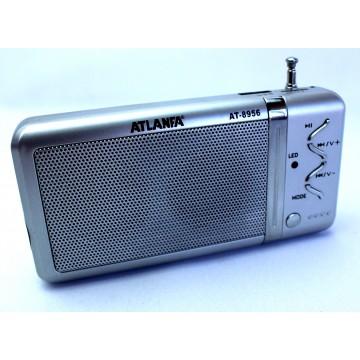 колонка с USB+SD+FM-приемник, 2-динамика AT-8956