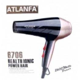 фен для укладки волос c насадкой, 2600w AT-6706