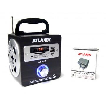 колонка от сети с USB, SD, FM-прием., дисплеем и 2-динамиками AT-R62