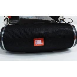 влагостойкая колонка JBL с USB, SD, FM, Bluetooth, ремешком, 2-я динамиками и савбуфером 17см*7.5см MINI CHARGE 3+ (BT-666)