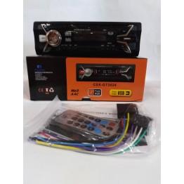 автомагнитола с 4-я выходами, USB, SD, FM, AUX, предохранителем, евро-разъемом и радиатором охлаждения 2024