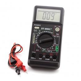 мультиметр многофункц.циф.со звук.с диспл.с автовыклю. DT-890C+ оригинал