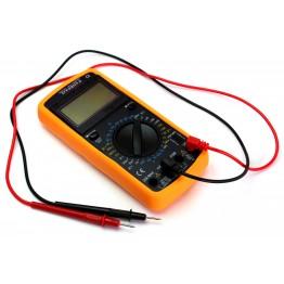 мультиметр многофункц.циф.со звук.с диспл.измер.широк.спек. DT-9205