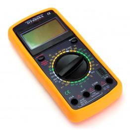мультиметр многофункц.циф.со звук.с диспл.измер.широк.спек. DT-9208