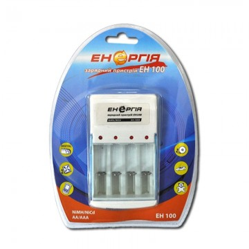 универс.заряд.устр.энергия для 4-х аккумул.EH-100 (NIMN/NiCd AA/AAA) (20)