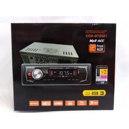 автомагнитола с 4-я выходами, USB, SD, FM, AUX, евро-разъемом и радиатором охлаждения 2021