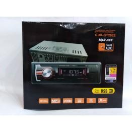 автомагнитола с 4-я выходами, USB, SD, FM, AUX, евро-разъемом и радиатором охлаждения 2022