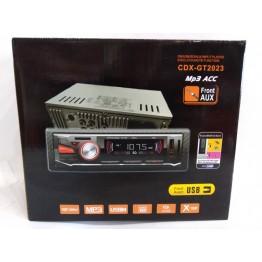 автомагнитола с 4-я выходами, USB, SD, FM, AUX, евро-разъемом и радиатором охлаждения 2023