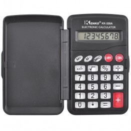 карманный калькулятор с крышкой 10см*6см KK-328A