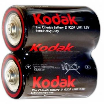 батарейка Kodak EXTRA HEAVY DUTY(R20P 1.5V) (24)