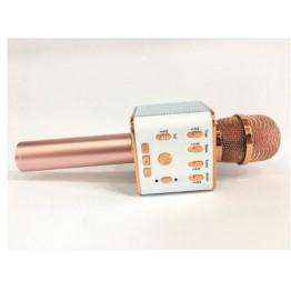 беспроводной микрофон-караоке с фунцией фонограммы, USB и Bluetooth L16(Q9)