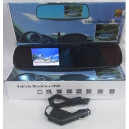 видеорегистратор в виде зеркала, Full HD, дисплеем 3.5 дюймов L707