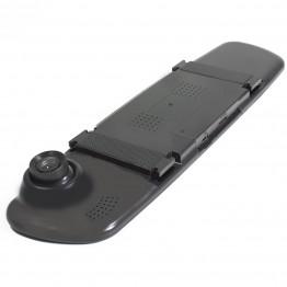 """Видеорегистратор в виде зеркала, Full HD, дисплеем 3.5"""" с кнопками под панелью L709"""