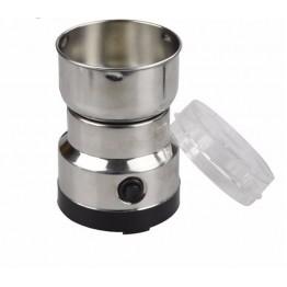 электроимпульсная кофемолка из нержавеющей стали и металл.корпусом 150ват Domotec MS-1206