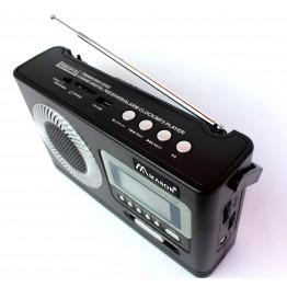 радиоприемник от сети и аккумулятора с USB, SD и цифровым дисплеем RM-2910L