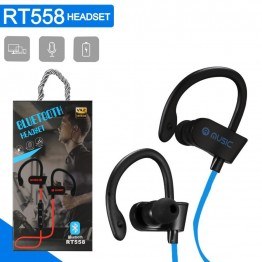 Беспроводные спорт-наушники с креплением на ухо Bluetooth и аккумулятором RT558