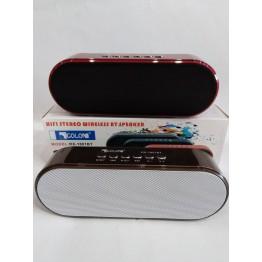 колонка с USB, SD, FM, Bluetooth, 2-динамиками и сабвуфером 18.5см*6.5см ATLANFA 1801BT