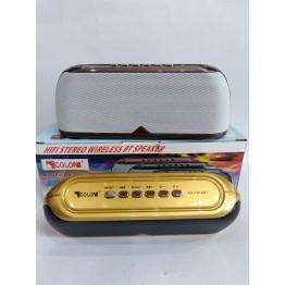 колонка с USB, SD, FM, Bluetooth, 2-динамиками и сабвуфером 20см*7.5см ATLANFA 1818BT
