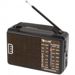 радиоприемник от сети с пятью волнами 16см*10см*5.5см GOLON RX-A608AC
