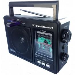 радиоприемник от сети с USB, SD и с аккумулятором 25см*17см*8.5см GOLON RX-99UAR