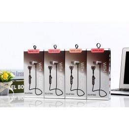 Беспроводные спорт-наушники с MP3, Bluetooth и аккумулятором SQ-BT800