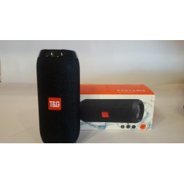 влагостойкая колонка JBL с USB, SD, FM, Bluetooth, 2-динамиками и савбуфером 16см*6см TG117