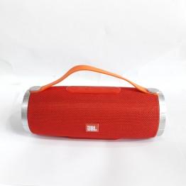 влагостойкая колонка с USB, SD, FM, Bluetooth, 2-динамиками и силиконовой ручкой 21.8см*9см TG109