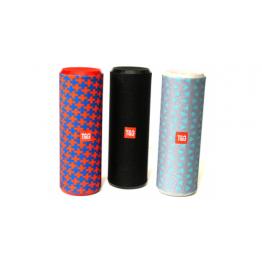 влагостойкая колонка с USB, SD, FM, Bluetooth, 2-динамиками и силиконовой ручкой 21см*7см TG-126