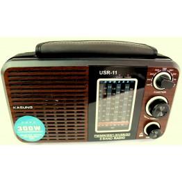 радиоприемники с USB+SD USR-11