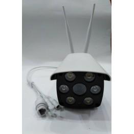 камера wifi уличная с проводным интернетом, SD card, ночным режимом, громкой связью и двумя антенами V587