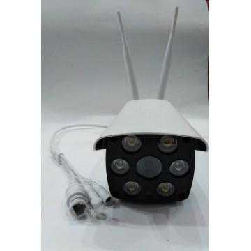 камера wifi уличная с проводным интернетом, SD card, ночным режимом, громкой связью и двумя антеннами V587