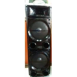 колонка в виде чемодана от сети и от аккум., с беспроводным микрофоном, USB, SD, FM, Bluet., диско шаром, с выходом на AUX и 12V 90см*30см*26.5см BK-D2800