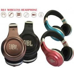 наушники JBL c аккумулятором, Bluetooth и MP3-плеером B61