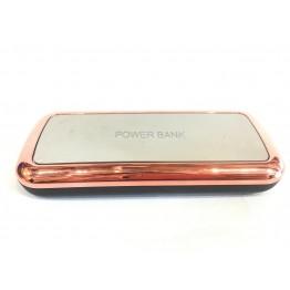 портативное зарядное устройство (Power Bank)в матовом корп., на 2 USB с LED фонариком 10000mA, 14.5см*6см*2.2см