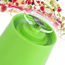 Портативная соковыжималка-блендер с Power Bank на аккумуляторе 380мл, 22000об/мин JUICE CUP NG-01