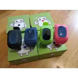 Детские смарт часы c сим картой, GPS трекером, прослушкой и датчиком снятия с руки Q50