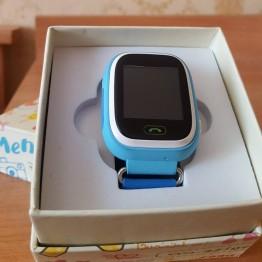 Детские смарт часы с сим картой, GPS удаленным слежением и прослушкой Q90