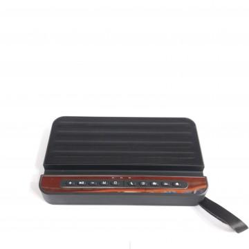 колонка матовая с USB, SD, FM, Bluetooth и природными звуковыми эффектами 20см*11см*3.3см V2