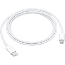 кабель переходник люкс копия с type-c на iphone однотонный белый T-505