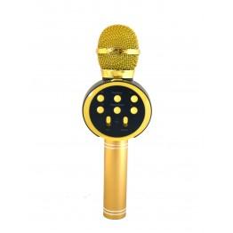беспроводной микрофон-караоке с фунцией изменения голоса, фонограммы, USB, SD, FM, AUX и Bluetooth V11